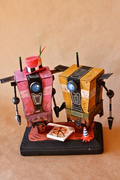 Geeky wedding toppers