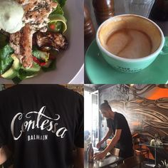 Great atmosphere at @contessabalmain. Love coming here always!