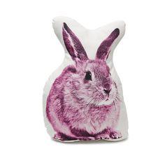 Rabbit pillow rabbit cushion rabbit cute pillow