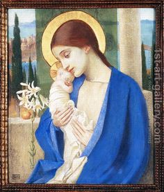 Madonna by Marianne Stokes So pure. Madonna by Marianne Stokes