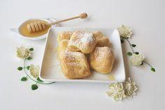 Baked Paleo Beignets (Dairy & Gluten-Free) Recipe Desserts with coconut oil, coconut milk, salt, vanilla extract, tapioca starch, large eggs