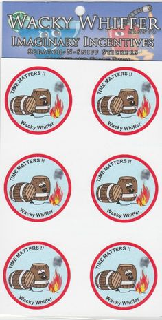 Wacky Whiffer Scratch and Sniff Stickers Gunpowder Amp Bonfire Scented ITM SII061E3 | eBay