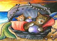 mermaid cats | Cat_mermaid_20_copy