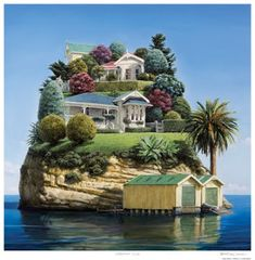 Carole's Chatter: Waterfront Villas by Barry Ross Smith Unusual Buildings, Amazing Buildings, Beautiful Places To Travel, Wonderful Places, Landscape Photography, Nature Photography, Crazy Houses, Unusual Homes, Unique Architecture