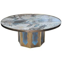 """""""Chan"""" Coffee Table by Philip and Kelvin LaVerne SOLD"""