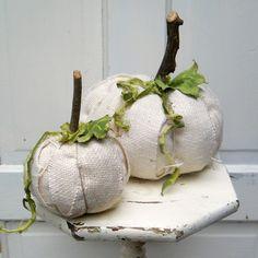 sack cloth pumpkins