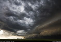 """The Collapse"" - South Dakota, June 2008.  Finding beauty in violent storms – CNN Photos - CNN.com Blogs"