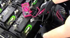 How To Install 36 or 48 Volt To 12 Volt Voltage Reducer Converter In Golf Cart Video #ezgo #clubcar #golfcarts