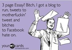 3 page essay....pshh