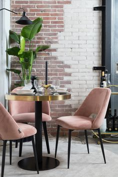 One of the hottest trends in home decor these days is the upsurge in popularity of modern dining room chairs. Small Table And Chairs, Small Living Room Chairs, Balcony Table And Chairs, Dining Table Chairs, Bar Chairs, Desk Chairs, Office Chairs, Pink Dining Rooms, Floor Protectors For Chairs