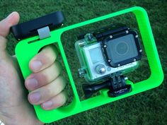 Gopro hero2 dive mount whit remote holder! by mickeshobby. http://thingiverse.com/thing:135198