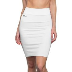 width, (w/o waistband), and soft, this high quality AOP pencil skirt is cut close to the body. Pencil Skirt Casual, Perfect Makeup, Online Clothing Stores, High Waisted Skirt, Sexy Women, Classy, One Piece, Stylish, Collection