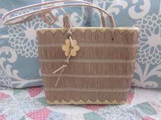 Vintage Raffia Bag by SimplyVintageandMore on Etsy, $16.99