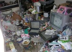 Break HQ In This Picture: Photo of messy room