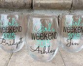 Personalized Bridesmaid Mason Jars with Ring by WeddingsByLeann