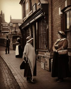 "Taken at The Black Country Museum. A great place to visit for ""living history"" lesson."