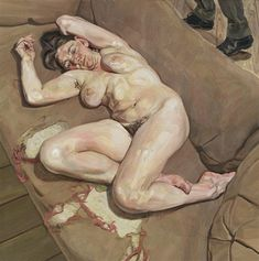 Lucian Freud, Naked portrait with reflection