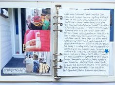 Week in the Life - Polka Dot Creative - love this journaling style
