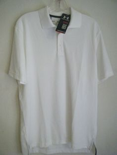 Under Armour 1202822 Men's -Large  UA Performance Polo #UnderArmour #Polo wow $0.99 free shipping