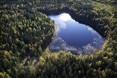 Yli puolet maailman järvistä löytyy... Kanadasta!