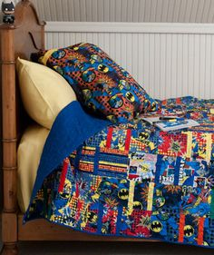 Quilt Magazine | Quilt Magazine » Blog Archive » QUILT: Feb/Mar 2012 – Super Hero Pillows