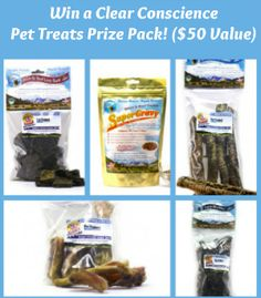Clear Conscience Pet Treats Prize Pack Giveaway!