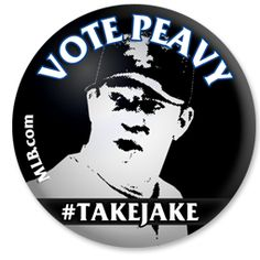 I'm expecting a mammoth fruit basket from Jake Peavy if he gets voted to the #ASG. Voted 25 times at least already!
