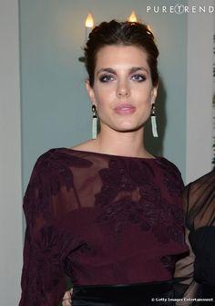 Charlotte Casiraghi à la soirée Vanity Fair et Gucci à Cannes.