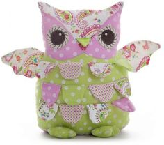 Toys L Owl Doorstop I so want to make one of these! Owl Doorstop, Owl Fabric, Owl Eyes, Crochet Owls, Owl Patterns, Owl Bird, All Craft, Quilting Tutorials, Diy Doll
