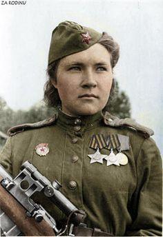 Russian sniper WWII