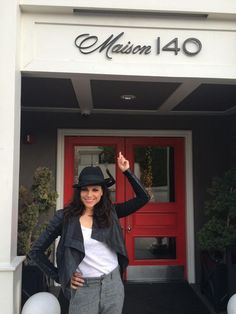 Lana Parrilla ‏@LanaParrilla: Thank you, Maison 140 LA for letting us take over your charming hotel! @Maison140NYC