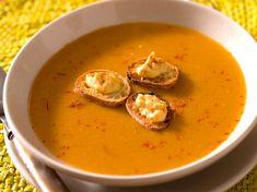 Découvrez la recette Soupe de poissons de Méditerranée sur cuisineactuelle.fr.
