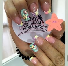 Cute Nail Art, Cute Acrylic Nails, Cute Nails, Semi Permanente, Pedicure, Hair And Nails, Nailart, Nail Designs, Make Up