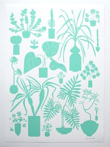 Image of House Plants Print