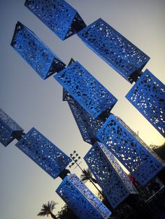 Steel art - Coachella 2012