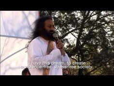 El Planeta Medita con Sri Sri Ravi Shankar- 150 mil personas meditaron en Buenos