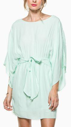 Mint Kimono Dress