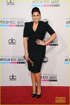 Hilary Scott - AMAs 2012 Red Carpet