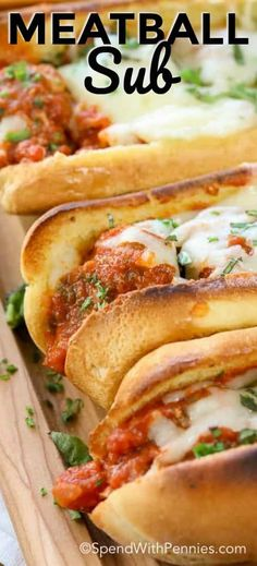 Personalized Graduation Gifts - Ideas To Pick Low Cost Graduation Offers This Meatball Sub Has Everything You Want In A Hot Submarine Style Sandwich - It'S Meaty, Saucy And Cheesy Perfect For Lunch, Dinner Or To Serve At Your Next Party # Meatball Sub Sandwiches, Meatball Sub Recipe, Meatball Subs, Meatball Recipes, Beef Recipes, Cooking Recipes, Sandwiches For Dinner, Recipies, Healthy Recipes