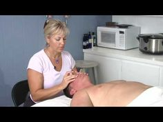 When giving a sinus massage, first clear through the neck because it gives room for everything to drain downward. Give a sinus massage with tips from a massa. Sinus Massage, Reflexology Massage, Massage Tips, Face Massage, Massage Benefits, Massage Room, Massage Techniques, Spa Massage, Massage Therapy