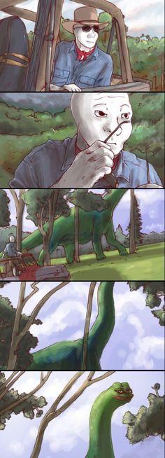Jurassic meme