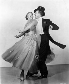 Ginger Rogers and Fred Astaire in The Barkleys of Broadway  (Charles Walters, 1949)