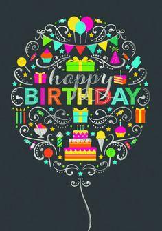 Happy birthday gefeliciteerd verjaardag hoera