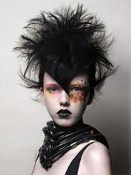 Image result for beehive punk hair do rockabilly vogue mag