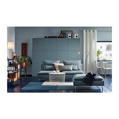 Monochrome living room with a modern mood - IKEA Living Room Ideas Usa, Living Room Sets Ikea, Living Room Furniture Inspiration, Living Room Sofa, Living Room Designs, Living Spaces, Ikea Ps 2014, Canapé Design, Sofa Furniture