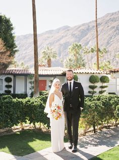 Avalon Hotel & Bungalows Palm Springs | kelseytimberlake.com Wedding Couple Pictures, Wedding Couples, Wedding Engagement, Wedding Day, Avalon Hotel, Tears Of Joy, Bungalows, Creative Studio, Palm Springs
