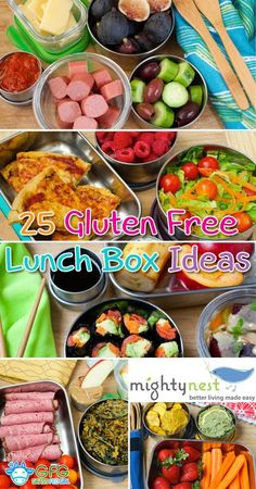 25 Gluten Free Lunch Box Ideas and $100 Mighty Nest Giveaway | http://www.grassfedgirl.com/25-paleo-primal-lunch-ideas-100-mighty-nest-giveaway/