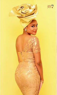 Toju Foyeh in Abeke Avant Garde Gele ~African fashion, Ankara, kitenge, African women dresses, African prints, Braids, Nigerian wedding, Ghanaian fashion, African wedding ~DKK