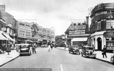 Photo of Ealing, The Broadway from Francis Frith Old London, West London, Acton London, London History, As Time Goes By, Salford, Slums, Exeter, Old Photos
