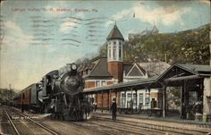 Lehigh Valley RR Station Easton Pennsylvania